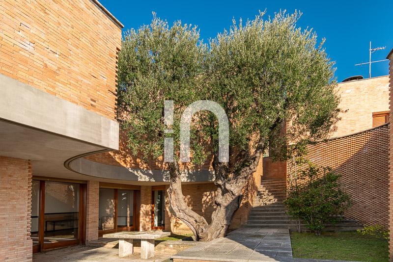 Villa designed by the arch. Marco Zanuso